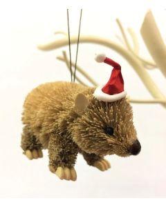 Wombat - Christmas decoration