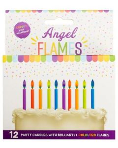 Cake Candles - with coloured flames