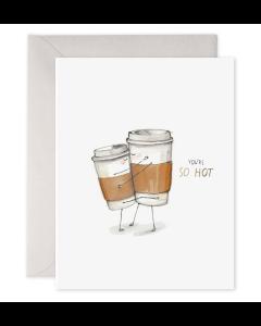 Greeting Card - So Hot