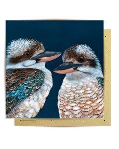 Greeting Card - Kookaburras