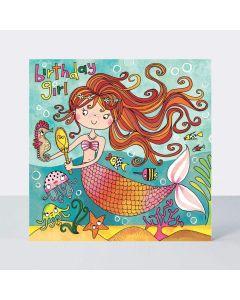 Jigsaw Card - Mermaid