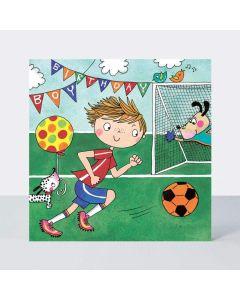 Jigsaw Card - Soccer