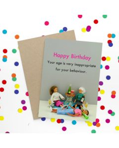 Birthday Card - Your Age is Very Inappropriate