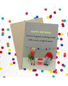 Birthday Card - Mostly Original Parts