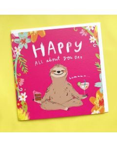 Birthday Card  - All About You Day