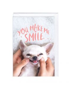 'You Make Me Smile' Card
