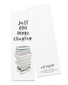 Bookmark - 'Just one more chapter'