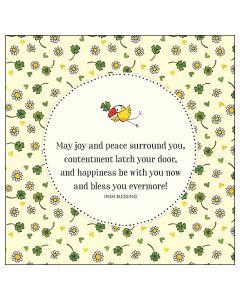 Greeting Card - Joy and Peace