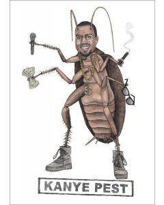 Greeting Card - Kanye Pest