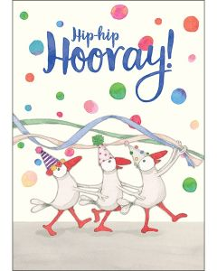 Hip-Hip Hooray! BIG Card