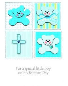 For A Special Little Boy On His Baptism Day