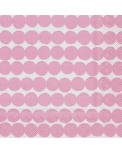 Cocktail Napkins - Rasymatto Pink by MARIMEKKO (Pack of 20)