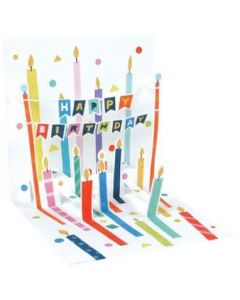 3D Pop-Up Card - Birthday Candles