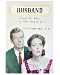 HUSBAND Card - Ongoing Project