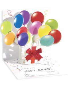 3D Pop-Up Card - Balloons