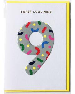 AGE 9 Card - Super Cool