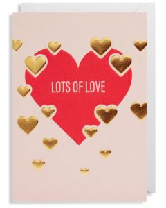 Greeting Card - Lots of Love