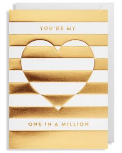 Greeting Card - One In a Million