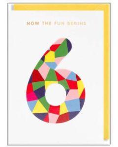 AGE 6 - Rainbow '6'