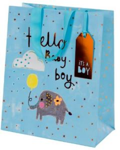 Gift bag - Hello baby BOY