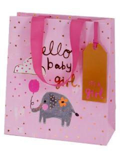 Gift bag - Hello baby GIRL