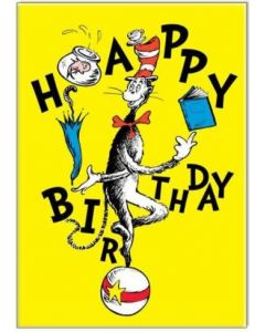 Birthday Card - Cat in the Hat by Dr Seuss