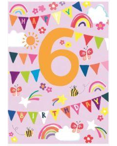 AGE 6 - Rainbows, flags & butterflies