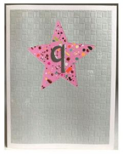 Age 9 - Pink STAR card