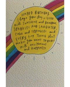 BIRTHDAY - Sunshine & Rainbows