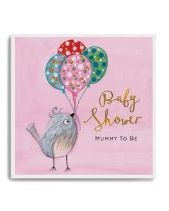 Baby Shower - Bird & balloons