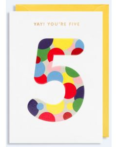 AGE 5 - 'Yay' Coloured Spots