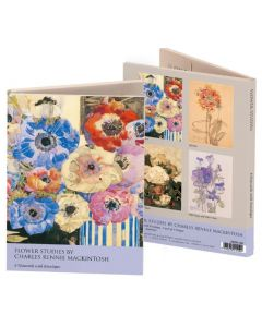 Notecard wallet - Flower Studies by Mackintosh