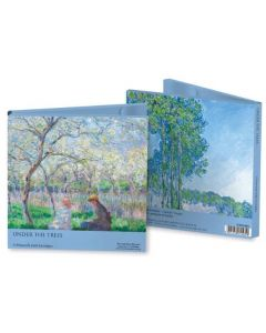 Notecard wallet - Under the trees