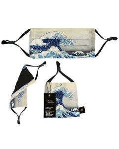 Designer Face Mask - The Great Wave by Hokusai (The British Museum)