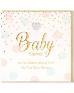 BABY SHOWER Card - Fabulous Mummy To Be