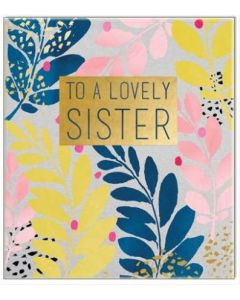 SISTER Card - Lovely Sister