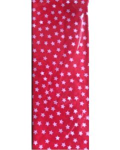 Tissue Paper - Stars on red (4 Sheets)