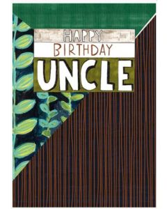 UNCLE Birthday - Vines & stripes