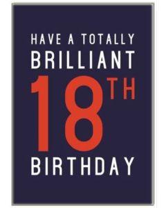 18th Birthday - Brilliant 18th