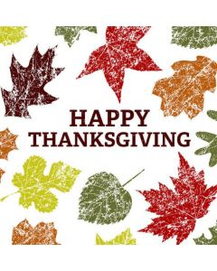 Thanksgiving card - Leaves