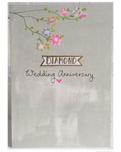 Diamond Anniversary - Floral branch