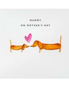Mummy on Mother's Day - Sausage dog