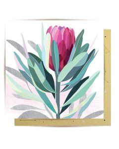 Greeting Card - Protea