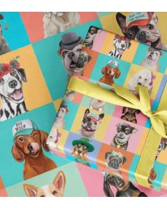 Cute Canines - wrapping paper
