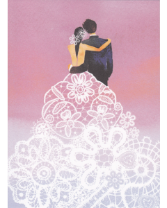 Lace Couple Card