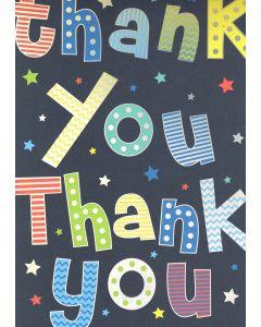 BIG Card - Thank You. Thank You