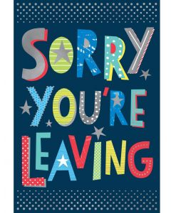 BIG Card - Sorry You're Leaving