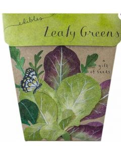 Leafy Greens - Card & gift of seeds