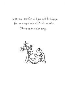 Greeting Card - Love One Another by Michael Leunig