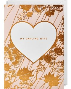 'My Darling Wife' Card